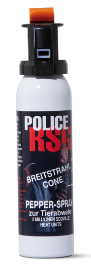 Police RSG Pfefferspray, 150ml, High Jet Fog Breitstrahl