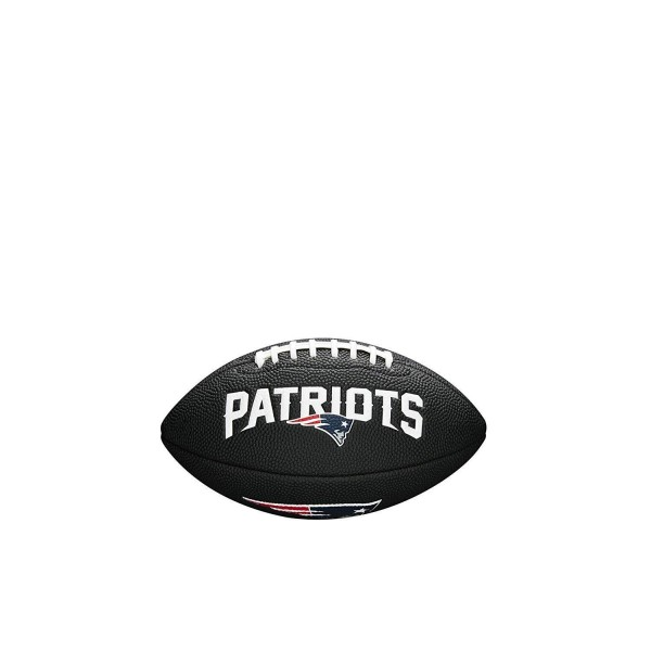 Wilson American Football New England Patriots Logo, Mini Size, NFL, Rubber, schwarz