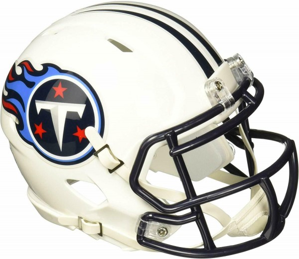 Riddell NFL American Football Tennessee Titans Speed Mini Football-Helm, 13 cm