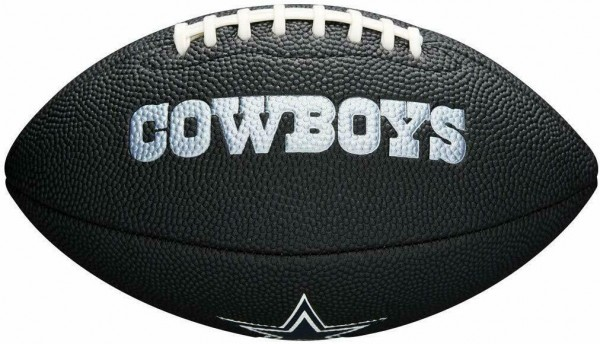 Wilson American Football Dallas Cowboys Logo, Mini Size, NFL, Rubber, schwarz-Copy