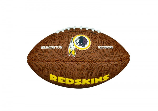 Wilson American Football Washington Redskin Logo, Mini Size, NFL, Rubber, braun