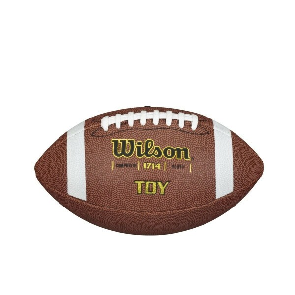 Wilson American Football TDY, WTF1714, Youth Size, Mischleder, braun