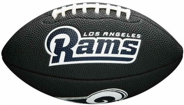 Wilson American Football Los Angeles Rams Logo, Mini Size, NFL, Rubber, schwarz