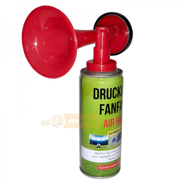 Compressed air fanfare/handy horn