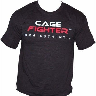 Cage Fighter T-Shirt - You can't fake this! - schwarz, XL